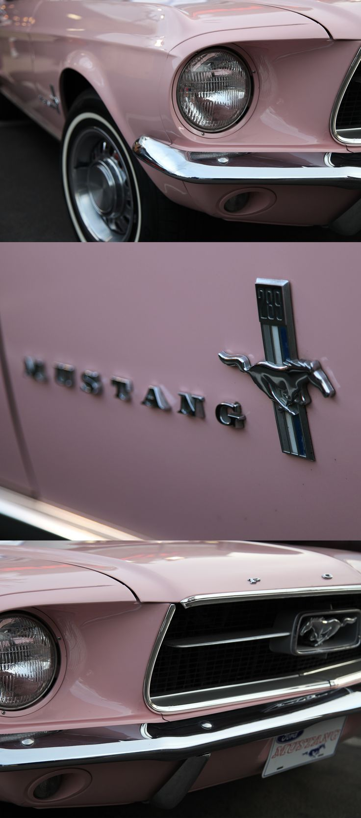 1967 Ford Mustang. Para mi chica.