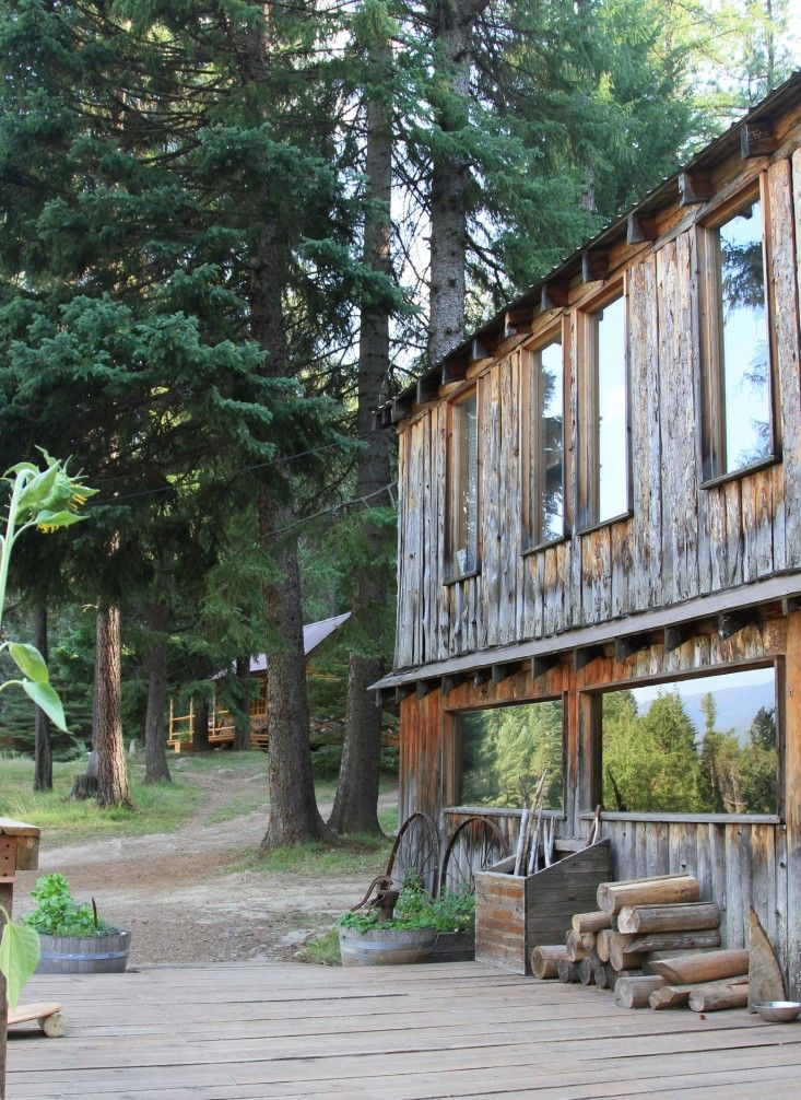 Minam River Lodge, Eagle Cap Wilderness, Oregon. Can only be accessed by horseback, hiking or small plane.