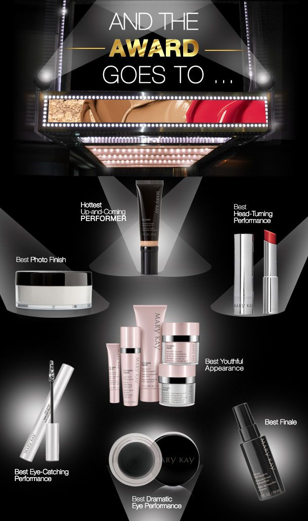 We're all about red carpet glamour! Here are some of our Mary Kay nominees. What are your favorite products?