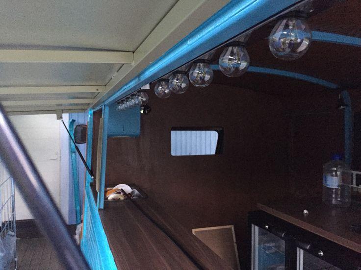 Light bulbs added. Citroen HY food truck.