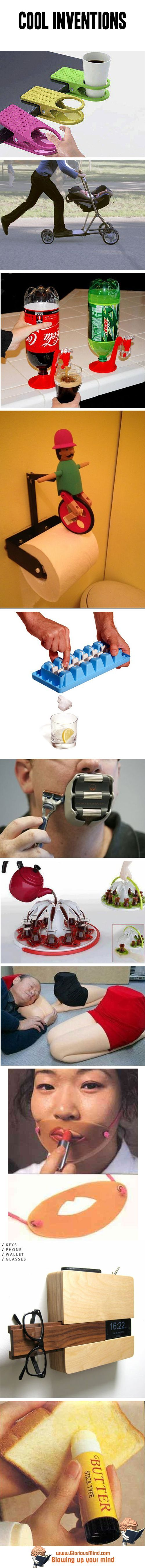 Cool inventions                                                                                                                                                                                 More