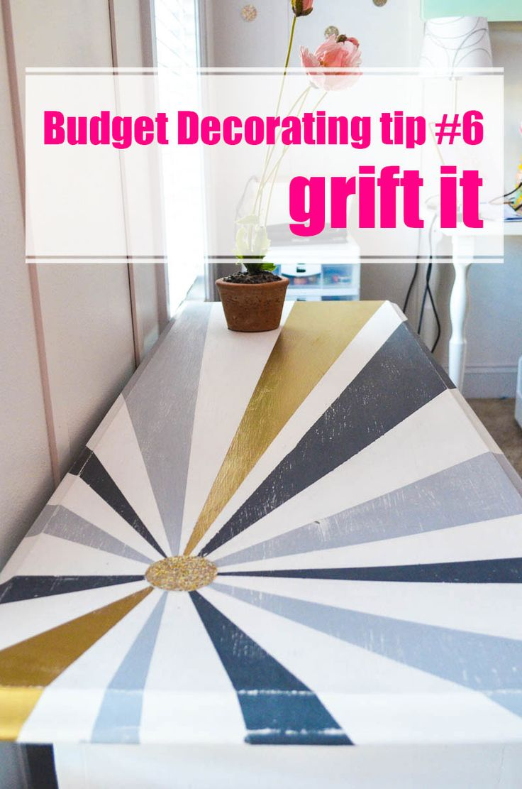 how to decorate on a tight budget design tables and