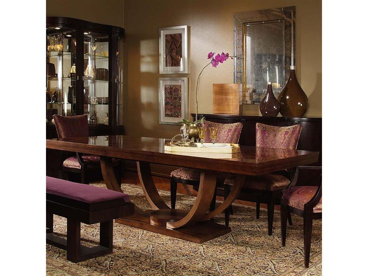 Century Furniture Dining Room Table 55H 302 Product Information Available At McElherans Fine