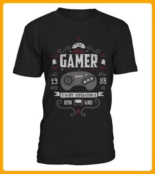 Mega Retro Gamer Limited Edition - Gamer shirts (*Partner-Link)