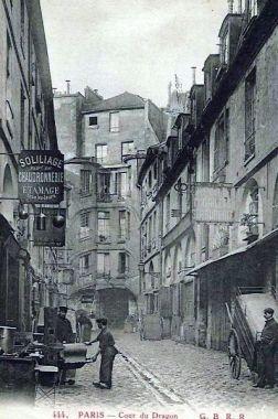 Paris 6e : cartes postales des années 1900