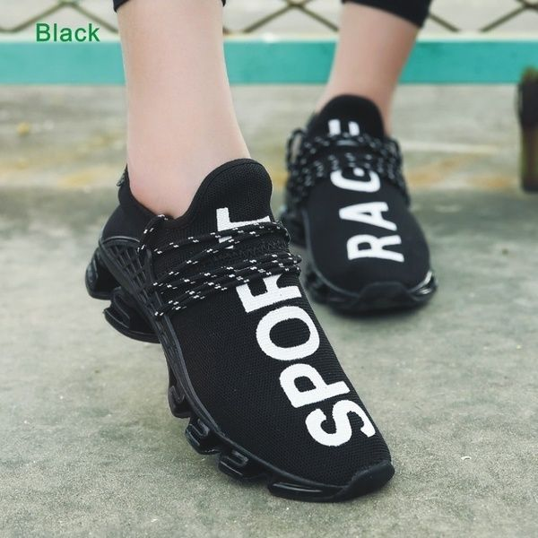 Youth Couples Fashion Sneakers Womens Mens Ventilate Athletic Walking Shoes Size
