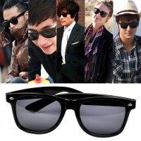 Nueva moda mujeres chica Cool gafas gafas Black