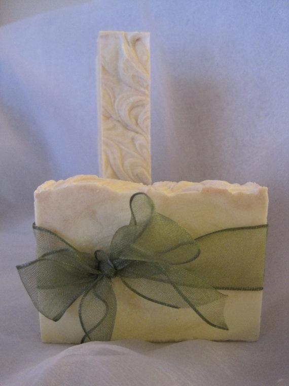 White Tea & Ginger Soap by littleindulgence on Etsy, $6.00