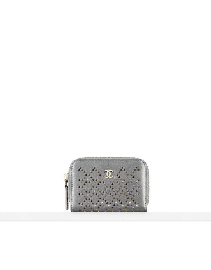 Pré-collection Automne-Hiver 2016/17 - agneau métallisé clouté & métal doré clair-argenté