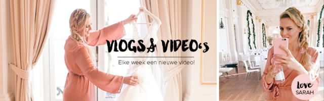 Leuke video's zien die je helpen bij het plannen van je bruiloft? Sarah (founder van TPW) heeft een Youtube kanaal met leuke & handige video's & vlogs! Je kunt haar hier volgen
