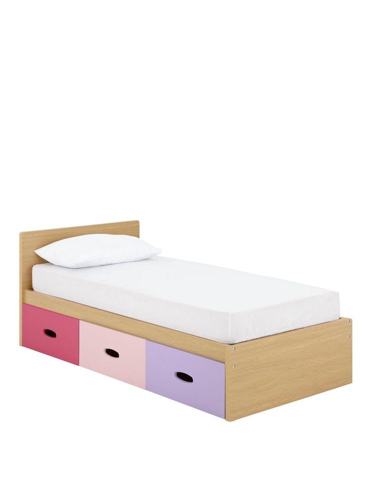 Ladybird Harley Kids Single Storage Bed with money-saving mattress offer…