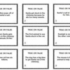 This is a set of 24 comprehension questions and a game board to use with the book Santa Stuck by Rhonda Gowler Greene and Henry Cole.  Game board c...