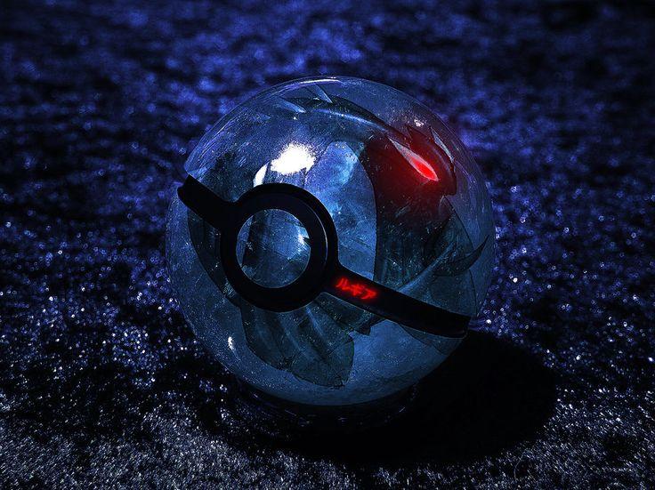 The Pokeball of Dark Lugia by *wazzy88 on deviantART