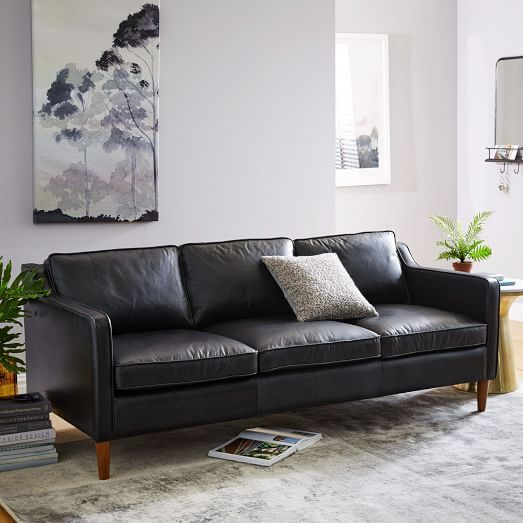 Living Room Furniture Sales: 25+ Best Ideas About Black Leather Sofas On Pinterest