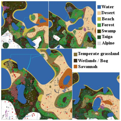 Gamasutra: Josh Newland's Blog - 2D procedurally generated world building in Unity
