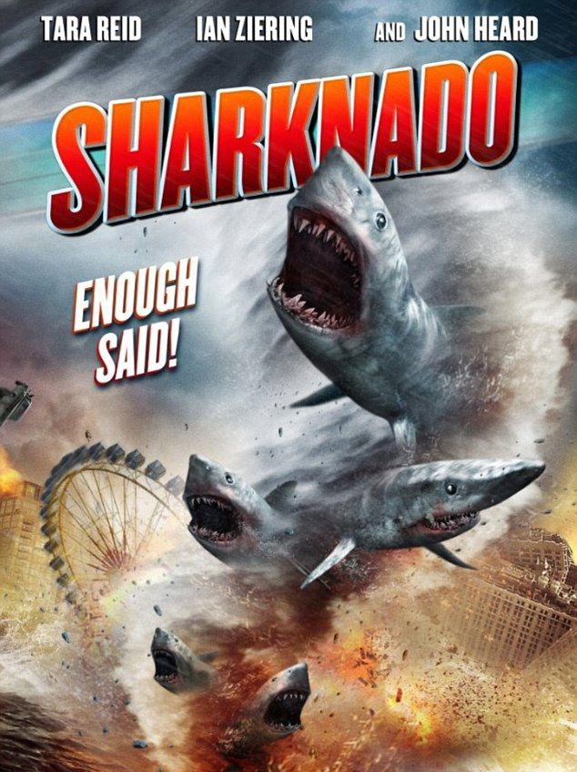 Sharknado Poster - Sure to become a cult classic, its even better than Atomic Twister!
