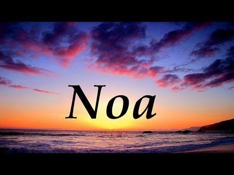 Significado del nombre Noah - ¿¿Te lo vas a perder??