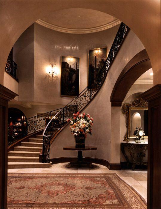 Interior Design Italian Villa Beverly Hills CA