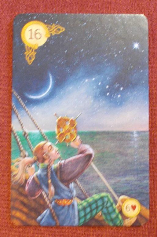 Celtic Lenormand - Star Lenormand card - Csillag Lenormand kártya