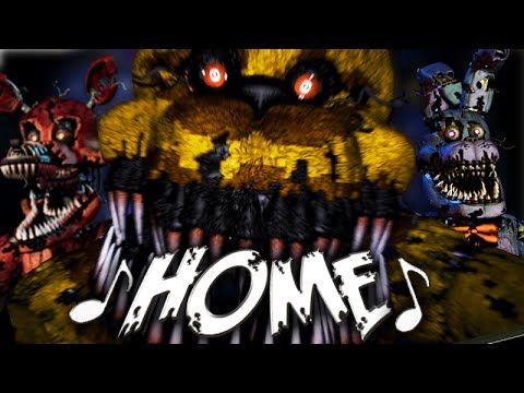 """FNaF 4 Song - """"Home"""" by NateWantsToBattle (Five Nights at Freddy's) - Love it! Great song to end off a playlist of some of my faves!"""