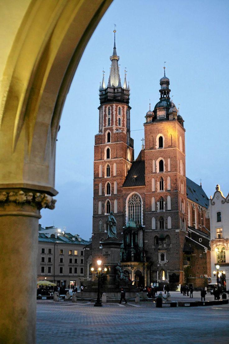 Kraków. Kościół Mariacki/Fot. Michał Łepecki / Agencja Gazeta