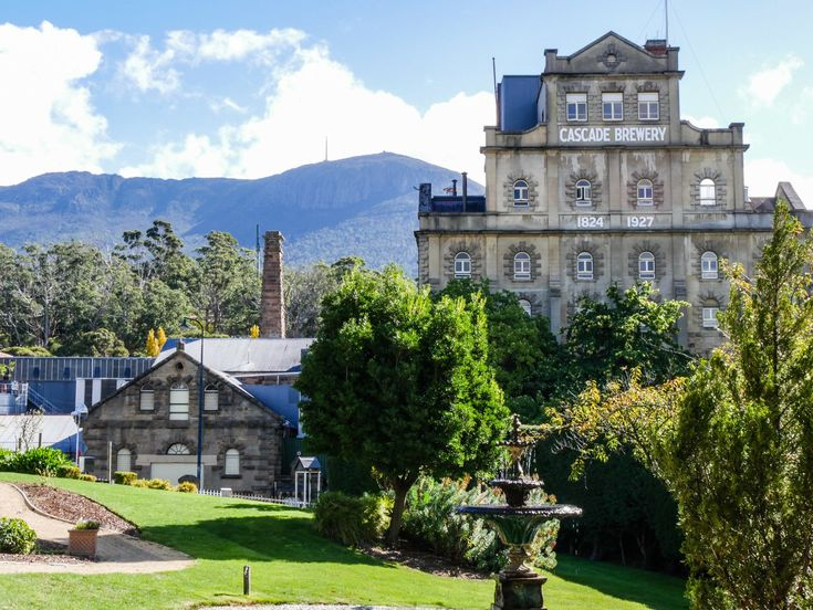 The Cascade Brewery tour - history of beer making, beautiful buildings and great beer !