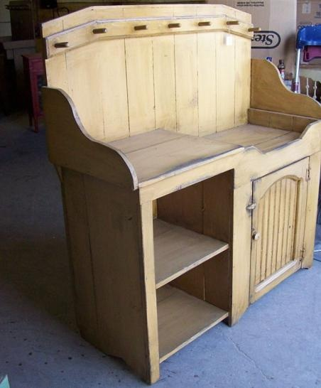 Country Cupboard, Dry Sink, Primitive Furniture, Diy Furniture, Laundry  Rooms, Country Decor, Woodworking Projects, Cupboards, Cabinets