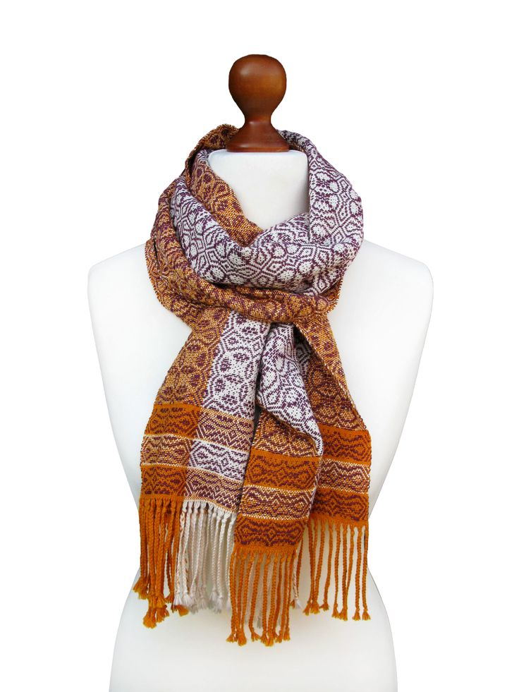 Flight Home Hand Woven Scarf