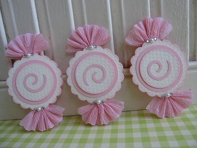 for candy party match it up with the cupcake toppers that look like cupcakes-in cupcakes
