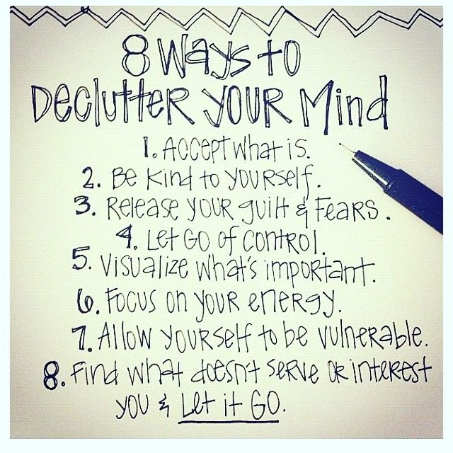 Make All The Most Magnetic New Year Wishes - 8 Ways to Declutter Your Mind #fengshuidana #thetaoofdana || Clear space for those dreams.  Dump your clutter - including the clutter in your mind, your computer and your habits & routines- and make space for the new!!!    This is actually a bit of Physics: when you let things go you create a vacuum that pulls new things magnetically into your life!!!