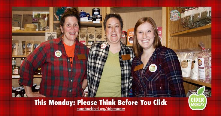 Monadnock Buy Local - Cider Monday: Think Before You Click