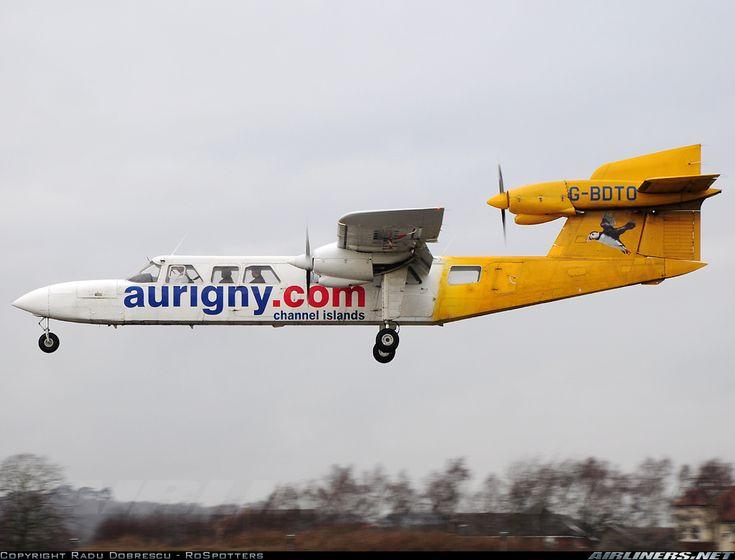 Aurigny Air Services Britten-Norman BN-2A Mk3-2 Trislander Southampton - Eastleigh (SOU / EGHI) UK - England, March 6, 2014
