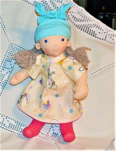 Puppen - waldorf puppe - ein Designerstück von hudyne bei DaWanda