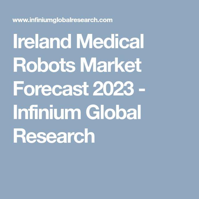 Ireland Medical Robots Market Forecast 2023 - Infinium Global Research