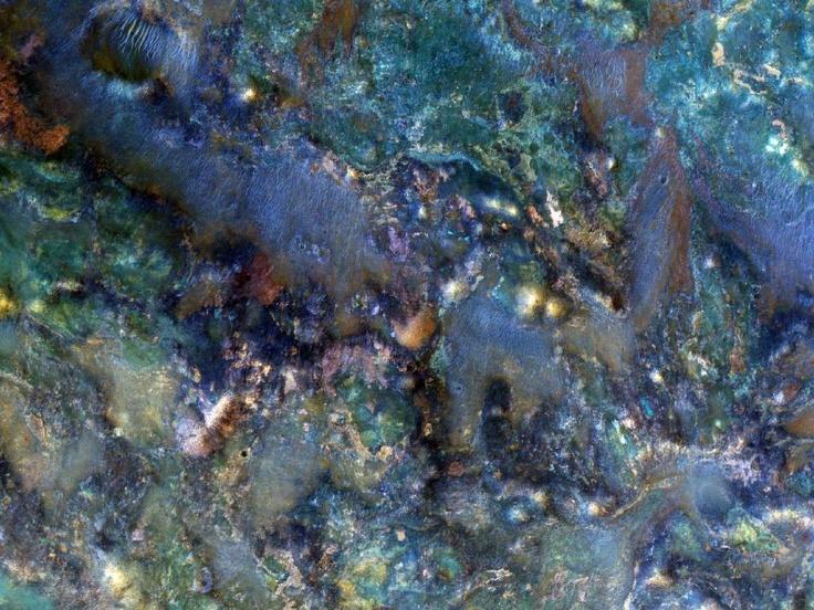 NASA - Mars RocksNili Fossa, Spaces, True Colors, Mars Rocks, Mars Reconnaissance, Impact Crater, Ancient Bedrock, Arizona, Image