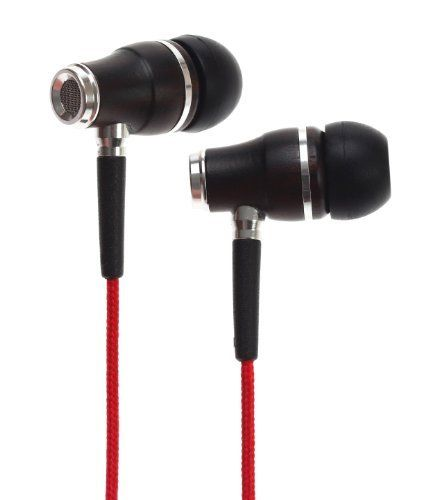 Symphonized NRG Premium Genuine Wood In-ear Noise-isolating Headphones with Mic and Nylon Cable (Red)  Price : $16.49 http://www.symphonizedaudio.com/Symphonized-Premium-Genuine-Noise-isolating-Headphones/dp/B00K35MU0K