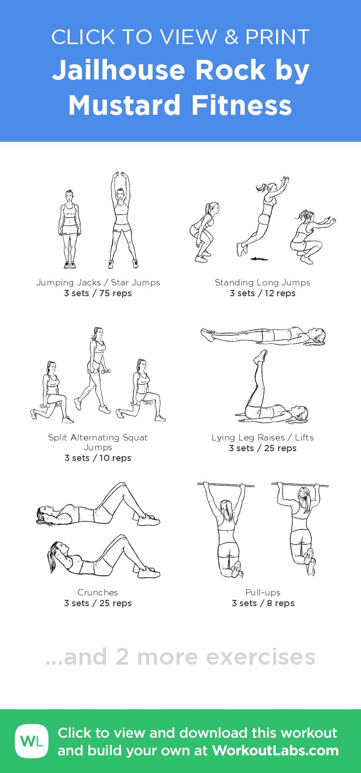 This is a picture of Amazing Free Printable Workout Plans