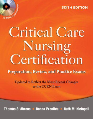 Ccrn study guide books