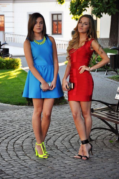 Bright dresses: Fashion Fashionista, Girls, Style, Fashion Land, Fall Fashion, Bright Dresses, Short Dresses, Fashionista Karina
