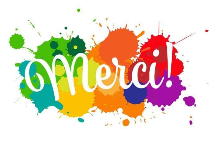 3 BONNES RAISONS DE DIRE MERCI | Formations France Paradis | Thankful, Sign  printing, Greeting card design