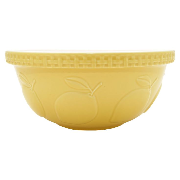 Mason Cash 29cm Mixing Bowl Lemon