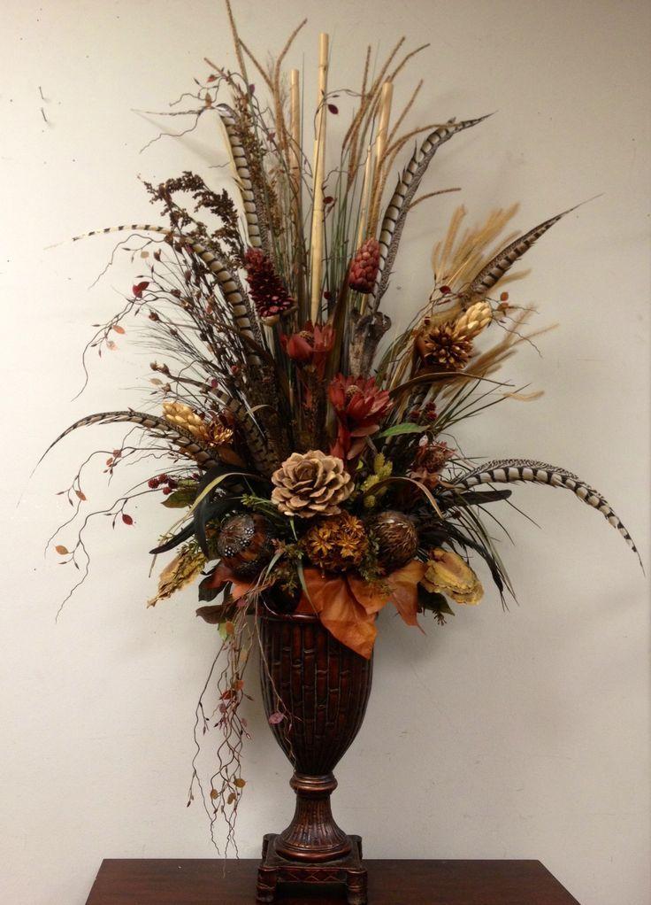 1006 best Forever Blooms images on Pinterest Floral designs - silk arrangements for home decor