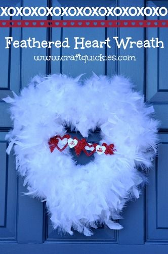 DIY: Feathered Heart Wreath Tutorial ...Gorgeous, with a great tutorial, definitely making this!