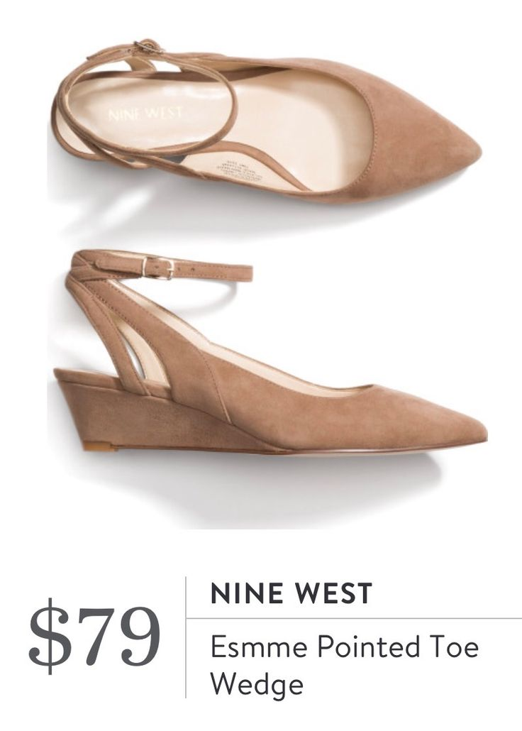 Stitch Fix March 2017 - Nine West Esmme Pointed Toe Wedge