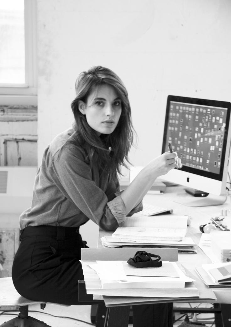 nicole dufour durocher for curio magazine :: ana kras :: nyc studio
