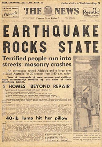 The Earthquake That Shook Adelaide 1954 | Adelaide Remember When