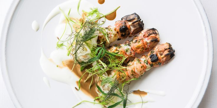 A delicious seafood starter recipe showcasing the very best of British produce from chef Paul Welburn, using fresh langoustines and fennel.
