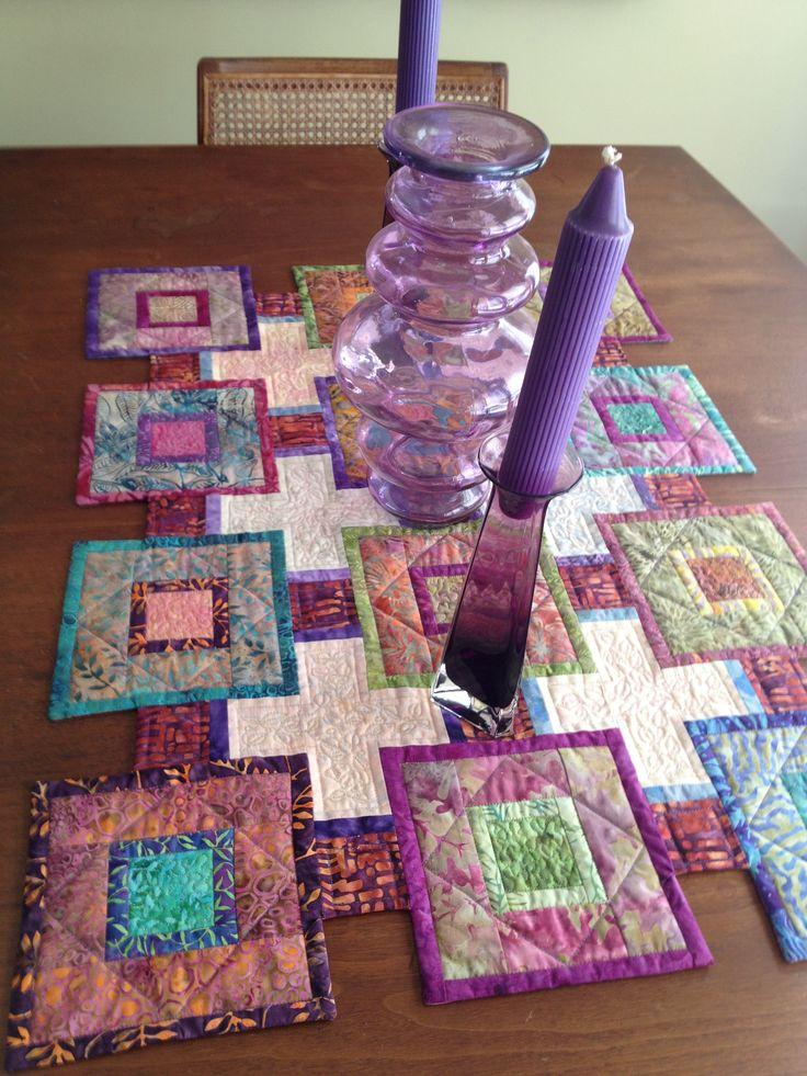 Fran's quilts.