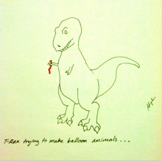 I <3 T Rex jokes