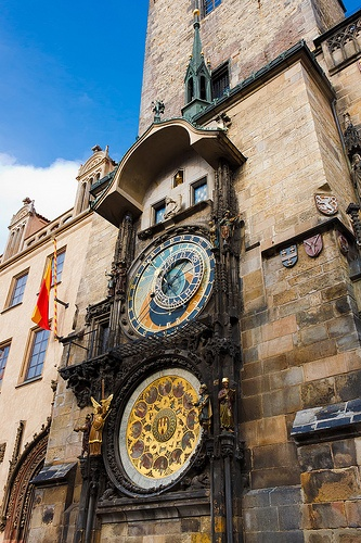 Teach Through Educational Travel: The Medieval Astronomical Clock in Prague, Czech Republic http://www.educationaltravel.com/Blog/618/Teach-Through-Educational-Travel-Pragues-Medieval-Astronomical-Clock: Astronom Clocks